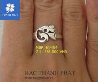 Mua Nhẫn Bạc Nữ Ở Hà Nội NU454
