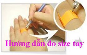 Hướng dẫn đo Size tay