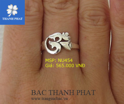 Nhẫn bạc nữ độc đáo cực đẹp NU454