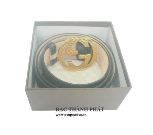Mua thắt dây lưng bạc nam tại hà nội DL019.