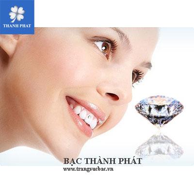 Đá kim cương đính răng RU004