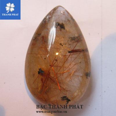Mặt dây chuyền nữ đá thạch anh tóc MDU015