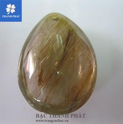 Mặt dây chuyền gắn đá quý MDU012