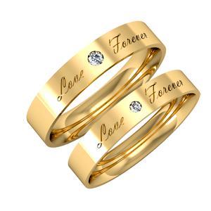 Nhẫn cưới 14k WD001