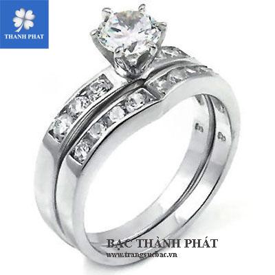 Nhẫn kim cương đẹp ND015